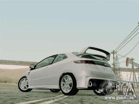 Honda Civic TypeR Mugen 2010 für GTA San Andreas Seitenansicht