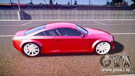Audi Nuvollari Quattro für GTA 4 Seitenansicht