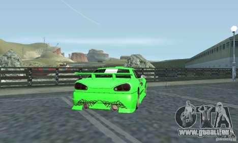 Vinyle pour Elegy pour GTA San Andreas sur la vue arrière gauche