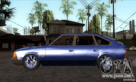2141 AZLK personnes Edition pour GTA San Andreas laissé vue
