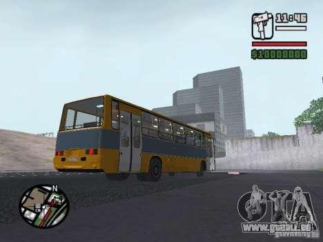 Ikarus 263 für GTA San Andreas Rückansicht