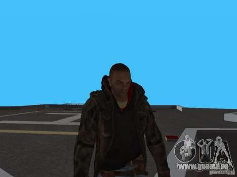 James Heller de Prototype 2 pour GTA San Andreas deuxième écran