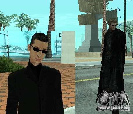 Pak personnages de Resident Evil pour GTA San Andreas troisième écran