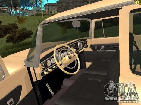 GAZ 13 pour GTA San Andreas vue arrière