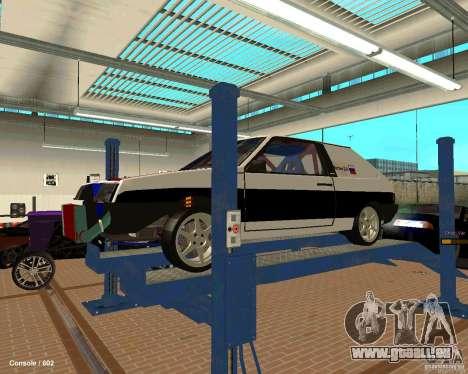 VAZ 2108 Drag pour GTA San Andreas moteur