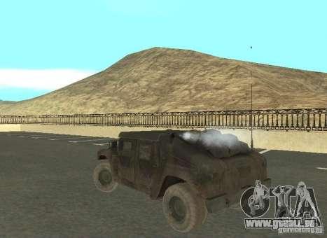 Hummer Cav 033 für GTA San Andreas rechten Ansicht