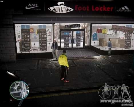 Foot Locker Shop v0.1 für GTA 4