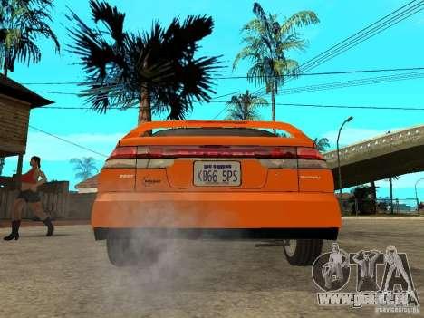 Subaru Legacy 250T 1997 für GTA San Andreas zurück linke Ansicht