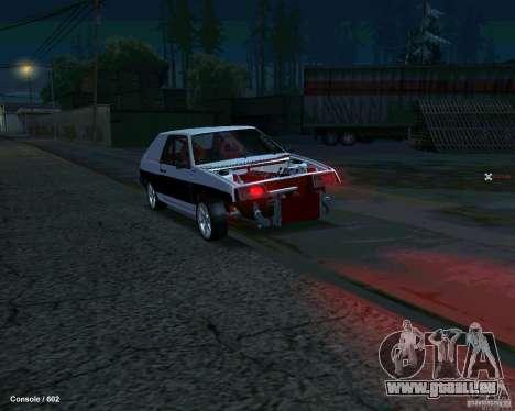 VAZ 2108 Drag pour GTA San Andreas vue de droite