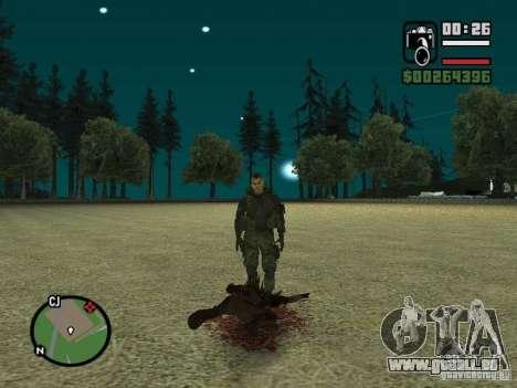 Chupacabra für GTA San Andreas achten Screenshot