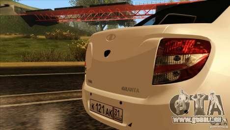 Grant 2190 VAZ pour GTA San Andreas vue intérieure