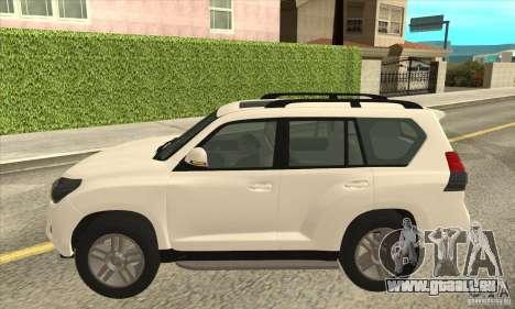 Toyota Land Cruiser Prado 150 pour GTA San Andreas laissé vue