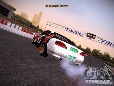 Nissan Silvia S15 DragTimes v2 für GTA San Andreas zurück linke Ansicht