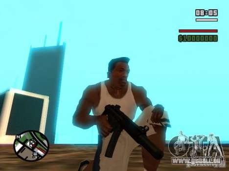 Gangster Weapon Pack für GTA San Andreas siebten Screenshot
