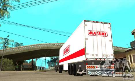 Trailer Magnit pour GTA San Andreas vue de droite