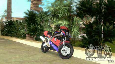 Yamaha FZR 750 black für GTA Vice City