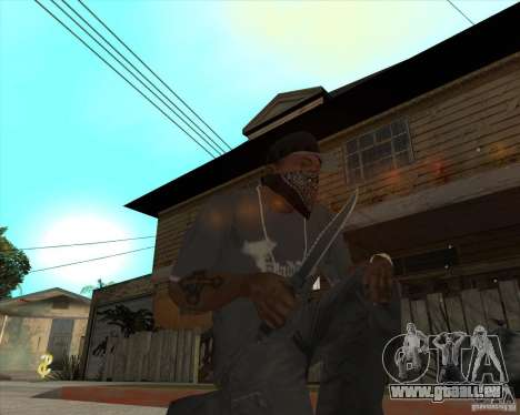 Rambo HD für GTA San Andreas