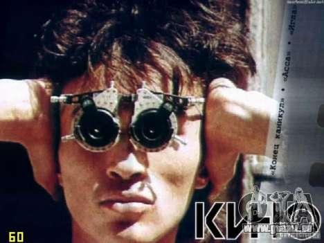 Écrans de chargement Viktor Tsoi pour GTA San Andreas deuxième écran