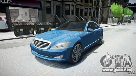Mercedes Benz w221 s500 v1.0 sl 65 amg wheels für GTA 4