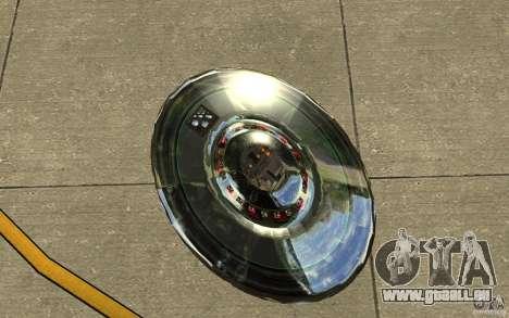 Real UFO für GTA San Andreas Rückansicht