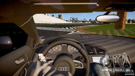 Audi R8 2008 für GTA 4 Rückansicht