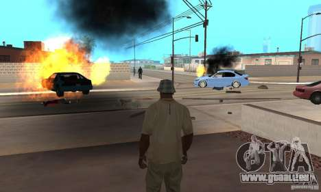 Hot adrenaline effects v1.0 für GTA San Andreas siebten Screenshot