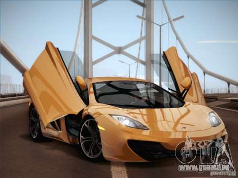McLaren MP4-12C BETA pour GTA San Andreas