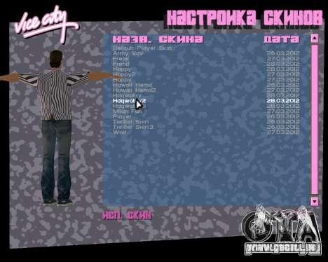 Tommy peau pour GTA Vice City le sixième écran