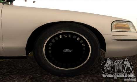 Ford Crown Victoria California Police für GTA San Andreas rechten Ansicht
