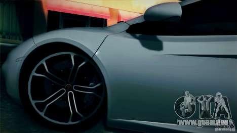 McLaren MP4-12C 2012 für GTA San Andreas Rückansicht