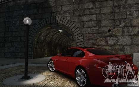 BMW M6 2010 v1.4 für GTA 4 Rückansicht