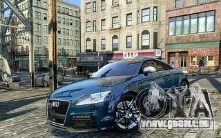 Audi TT RS 2010 pour GTA 4 est un droit