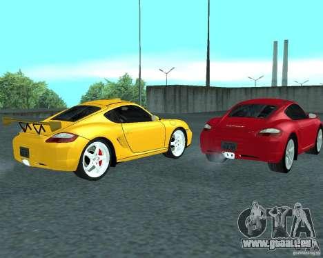Porsche Cayman S pour GTA San Andreas vue de droite