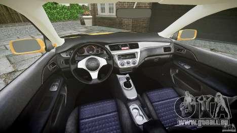 Mitsubishi Lancer Evolution VIII für GTA 4 Innenansicht