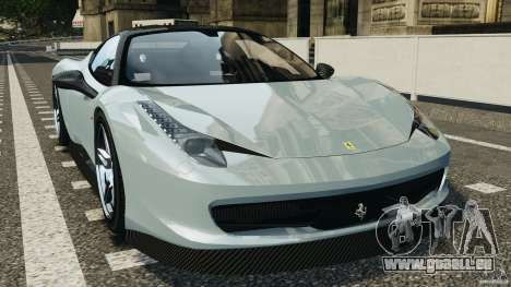 Ferrari 458 Italia 2010 [Key Edition] v1.0 pour GTA 4