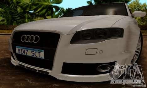 Audi RS4 2007 für GTA San Andreas rechten Ansicht