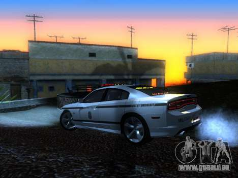 Dodge Charger SRT8 Police für GTA San Andreas linke Ansicht