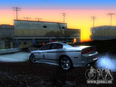 Dodge Charger SRT8 Police für GTA San Andreas linke Ansicht