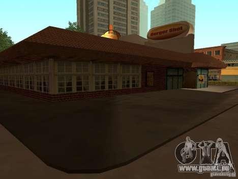 New Burger Shot pour GTA San Andreas troisième écran