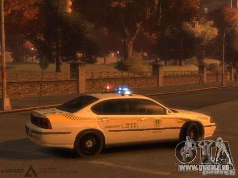 Chevrolet Impala Police 2003 für GTA 4 rechte Ansicht
