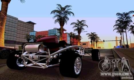 Ariel Atom pour GTA San Andreas sur la vue arrière gauche