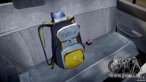 Mercury Tracer 1993 v1.0 pour GTA 4 est une vue de dessous