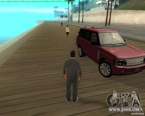 Das Rad gedreht hat, beim Beenden von Kfz für GTA San Andreas dritten Screenshot