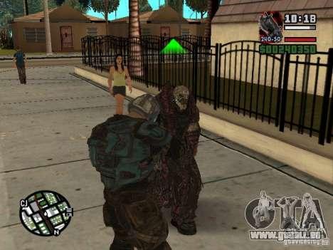 Lokast Theron Guard pour GTA San Andreas cinquième écran