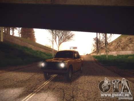 ENB v2 by Tinrion pour GTA San Andreas deuxième écran