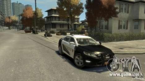 Ford Taurus Sheriff 2010 für GTA 4