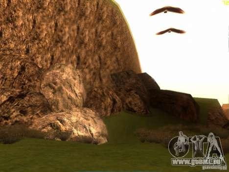 Without the desert pour GTA San Andreas quatrième écran