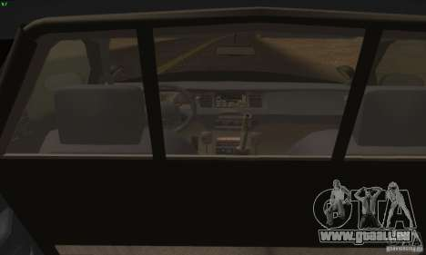 Ford Crown Victoria Alaska Police für GTA San Andreas zurück linke Ansicht