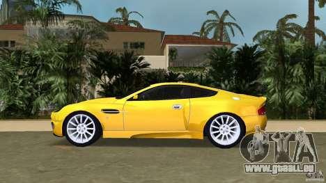Aston Martin V12 Vanquish 6.0 i V12 48V v2.0 für GTA Vice City linke Ansicht