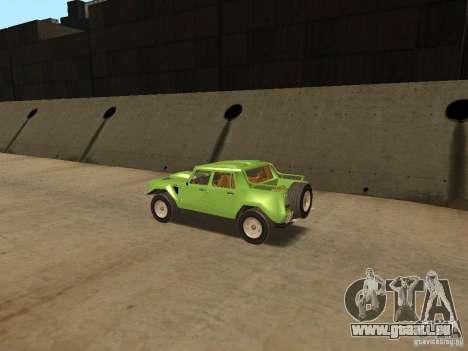 Lamborghini LM-002 v2 pour GTA San Andreas vue de droite